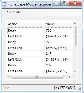 Runescape Mouse Clicker